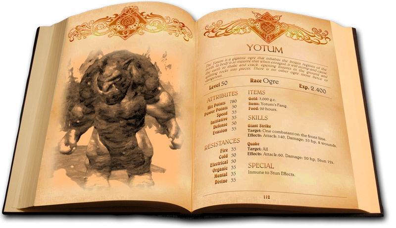Lords of Xulima - Bestiary & Mithology