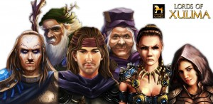 Lords of Xulima Character Portraits RPG