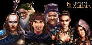 Lords of Xulima Character Portraits
