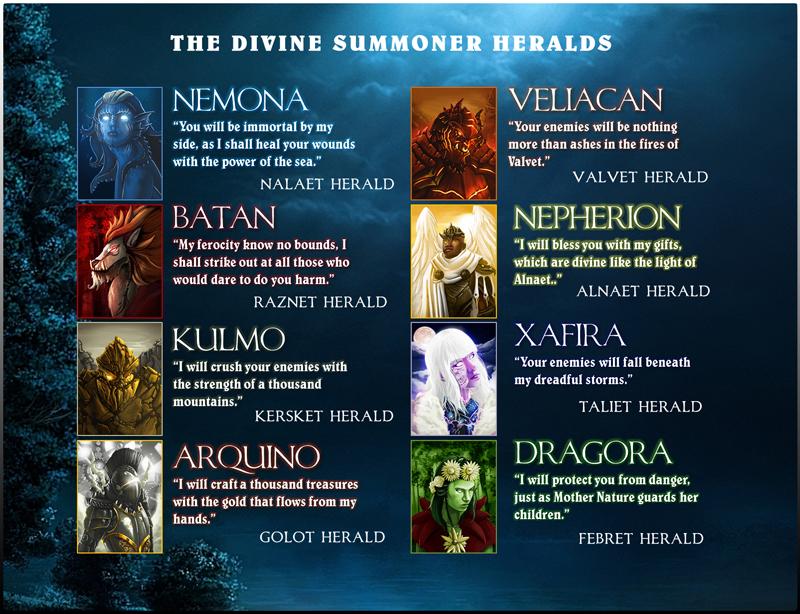 DivineSummonerHeralds