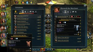 Lords of Xulima PC Mac Linux RPG Inventory