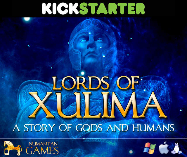Lords of Xulima in Kickstarter