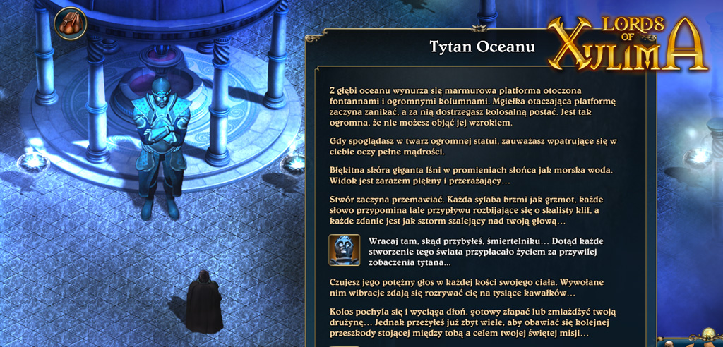 Lords of Xulima Polish Turn-based RPG