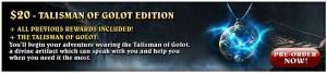 Lords of Xulima Talisman of Golot