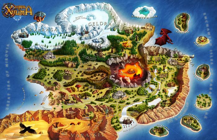 LoX World Map