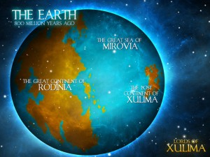Lords of Xulima Earth Continents