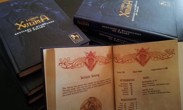 Lords of Xulima Bestiary Collector Edition